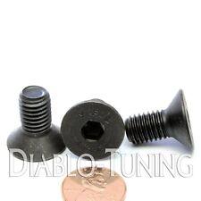 10mm x 1.50 x 20mm - Qty 10 - FLAT HEAD Socket Cap Screws Countersunk 12.9 M10