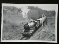POSTCARD GRESLEY CLASS K4 LOCO NO 3442 'THE GREAT MARQUESS' ON THE SEVERN VALLEY