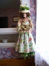 Handmade Primitive Folk Art Doll-Artichoke Andrea