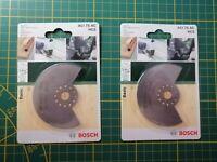 2 Stück Bosch Tauchsägeblatt Segmentsägeblatt ACI 75 AC HCS