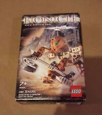 Rare discontinued LEGO BIONICLE 8584 MATORAN Hewkii brown