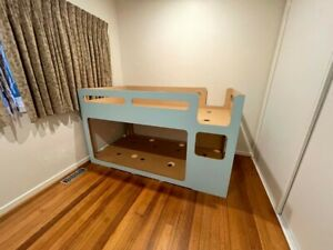 King Single Bunk Bed - Excellent Condition -Domayne brand