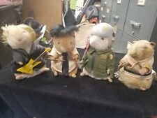 4 Different Gemmy Dancing Hamsters Untested