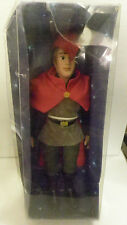 Deagostini Disney Porcelain sleeping beauty Prince Phillip Doll 2004 boxed
