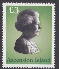 ISOLA di ascensione: 2003 la Regina Elisabetta II sg875 Gomma integra, non linguellato