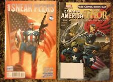 Captain America Thor Avengers Fcbd 2011 + Marvel Sneak Peeks #3 (January 2011)