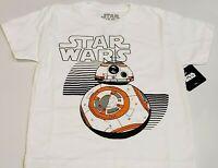 Star Wars New BB-8 Graphic Licensed Kids T-Shirt