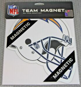 NFL Los Angeles Chargers 8 inch Auto Magnet Helmet Shaped by Fremont Die