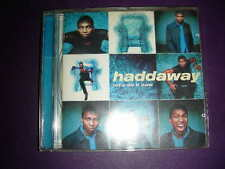 """RARE Haddaway """"Let's Do It Now """" BMG Coconut (CD, 1998,)"""