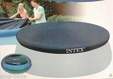 INTEX Ø 366 ABDECKPLANE POOLABDECKUNG Abdeckung Fast Easy Set Quick Up Pool