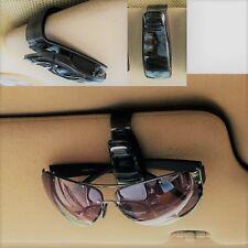 Ford Opel Skoda Seat VW Brillen - Parkkarten-Halter für die Sonnenblende silver