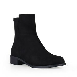 Womens Bellissimo Alicia Shoes Black Dress Winter Comfort Boots
