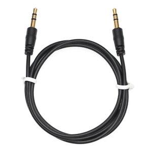 1m AUX Kabel 3,5mm Klinke Stereo Klinken Audio Klinke Stecker