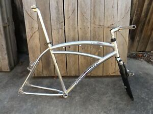 "VINTAGE 1998 DIAMONDBACK ALLOY MOUNTAIN BIKE FRAME; 21"" LARGE; BAYSWATER MELB."