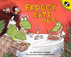 Froggy Eats Out by Jonathan London (Paperback) FREE shipping $35