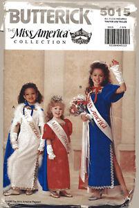 Miss America Collection: Children's/Girls' Cape, Dress & Gloves