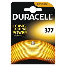 100x Duracell 377 1.5v Silver Oxide Watch Battery Batteries SR626SW AG4 626 D377