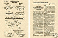 US PATENT for the BAND AID Art Print READY TO FRAME!!!!! 1958 bandaid