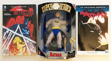"SILVER AGE BATMAN 9"" FIGURE and 2 TRADES (Justice League • Hasbro • DC)"