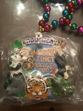 Endymion 2007 Mardi Gras Beads ENDANGERED AND EXTINCT SPECIES Theme (Signature)