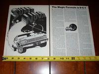 1976 CHEVROLET NOVA 9C1 COPO 9-C-1 POLICE PACKAGE - ORIGINAL VINTAGE ARTICLE
