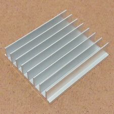 4 inch Heat Sink Aluminum (4.0 x 3.5 x 1.05) inches. Low Thermal Resistance.