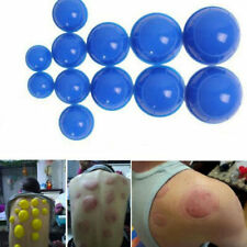 12Cups Chinese Medical Healthy Body Vacuum Cupping Suction Therapy Massage Set