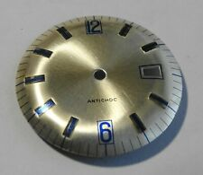 Watchmaker Watchmaking Dial Watch Curved Grey Reciprocating Diameter 1 3/16in