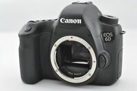 [Mint] Canon EOS 6D 20.2MP Digital SLR Camera Black Body w/ Charger *2153 Shot*