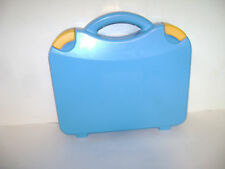 LEGO HARD PLASTIC CARRYING CARRY CASE STORAGE BOX with HANDLE