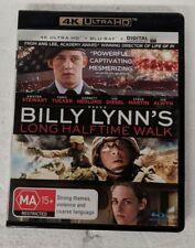 BILLY LYNN'S LONG HALFTIME WALK - 4K ULTRA HD + Blu-ray ALL Region oz seller DVD