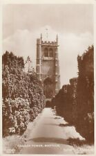RP sepia view posted 1937, Church Tower, Martock, Somerset, Raphael Tuck