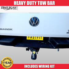 TrailBoss Heavy Duty TowBar Suit Volkswagon Amarock With Factory Step 06/2012 ON