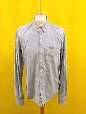 Mens Superdry Shirt - Xl - Light Blue - Roll Sleeved - Great Condition