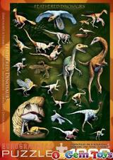 Feathered Dinosaurs Eurographics Jigsaw Puzzle 1000 piece