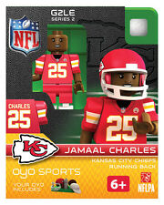 Jamaal Charles NFL kansas City Chiefs Oyo Mini Figure G2