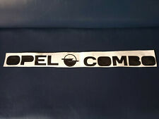 Opel Combo Vinyl Aufkleber Decal Sticker