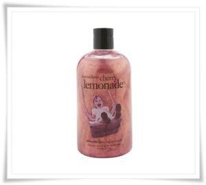 Philosophy MARASCHINO CHERRY LEMONADE 3 in 1 Shower Gel Body Wash 24 oz NEW
