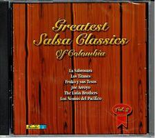 Greatest Salsa Classics of Colombia 2  La Sabrosura,Titanes BRAND NEW SEALED CD