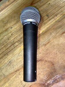 Shure SM58 Wired Cardioid Dynamic Vocal Microphone