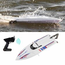 White 2.4G RC 30KM/H Racing Boat Speedboat Remote Controller for UDI003  Q9