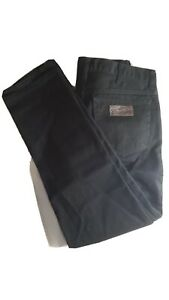 Wrangler Texas Straight Black Jeans W34 L32