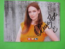 Autogrammkarte - Olivia Marei - GZSZ - orig. autogr.