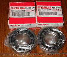 YAMAHA YZ250F, WR250F, WR250R, WR250X OEM ORIGINAL ENGINE CRANK SHAFT BEARINGS