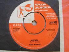 """PHIL McLEAN Small Sad Sam   Top Rank 1960s UK 7"""""""