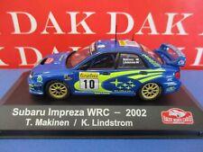 Die cast 1/43 Modellino Auto Subaru Impreza WRC Rally Monte Carlo 2002 T.Makinen