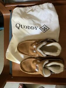 Quoddy shearling ring Boot Toast w 8