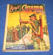 Vintage 'Boy's Cinema Annual' 1939