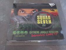 JUEGO DE MESA SQUAD SEVEN EXTREME JUNGLE MISSION AÑO 2004 NUEVO EN CAJA
