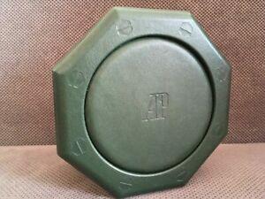 100% GENUINE VINTAGE AUDEMARS PIGUET GREEN LEATHER BOX FOR AP ROYAL OAK WATCHES